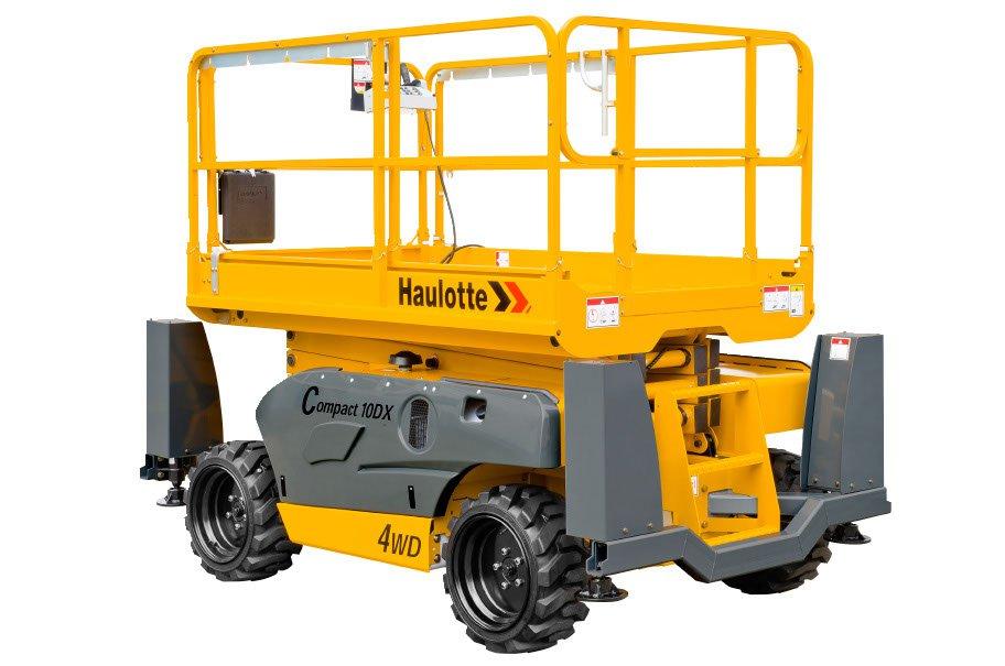 Haulotte access equipment